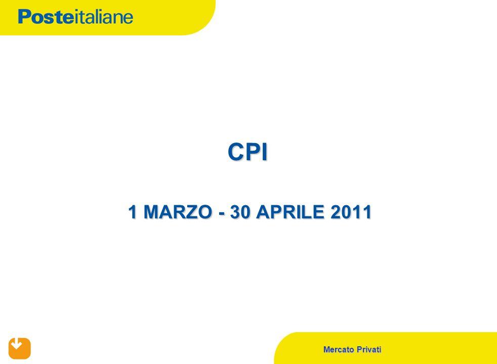 CPI 1 MARZO - 30 APRILE 2011