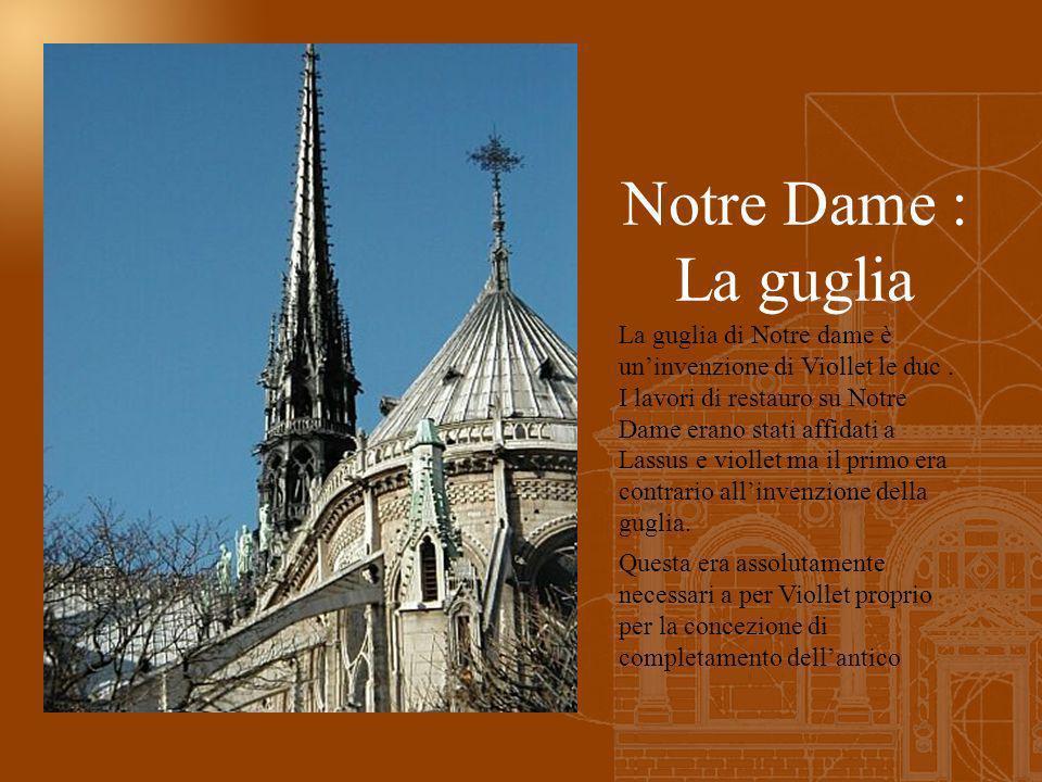 Notre Dame : La guglia