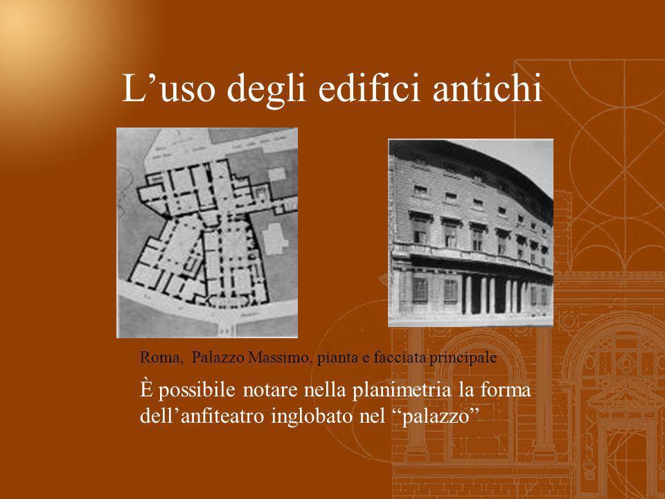 L'uso degli edifici antichi
