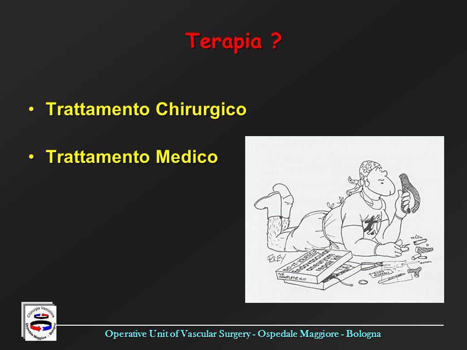 Terapia Trattamento Chirurgico Trattamento Medico