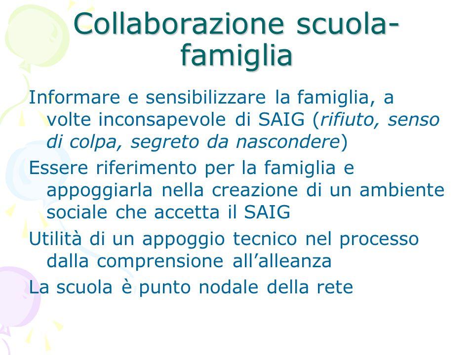 Collaborazione scuola-famiglia