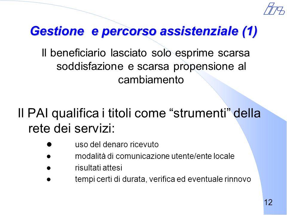 Gestione e percorso assistenziale (1)