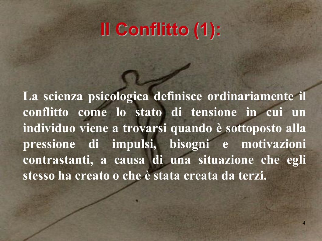 Il Conflitto (1):