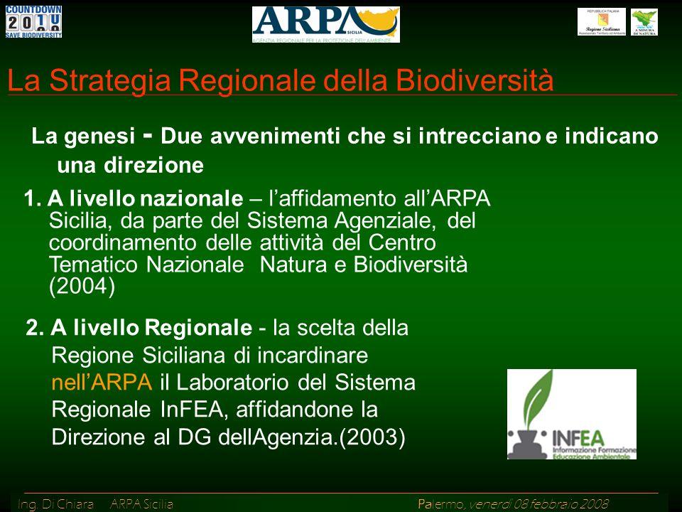 La Strategia Regionale della Biodiversità