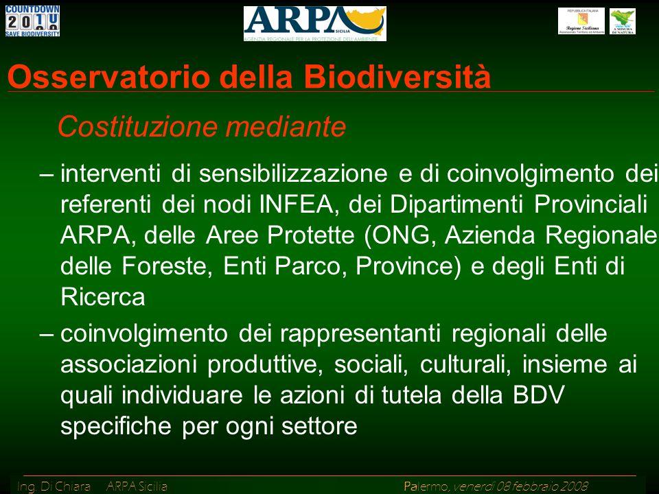 Osservatorio della Biodiversità
