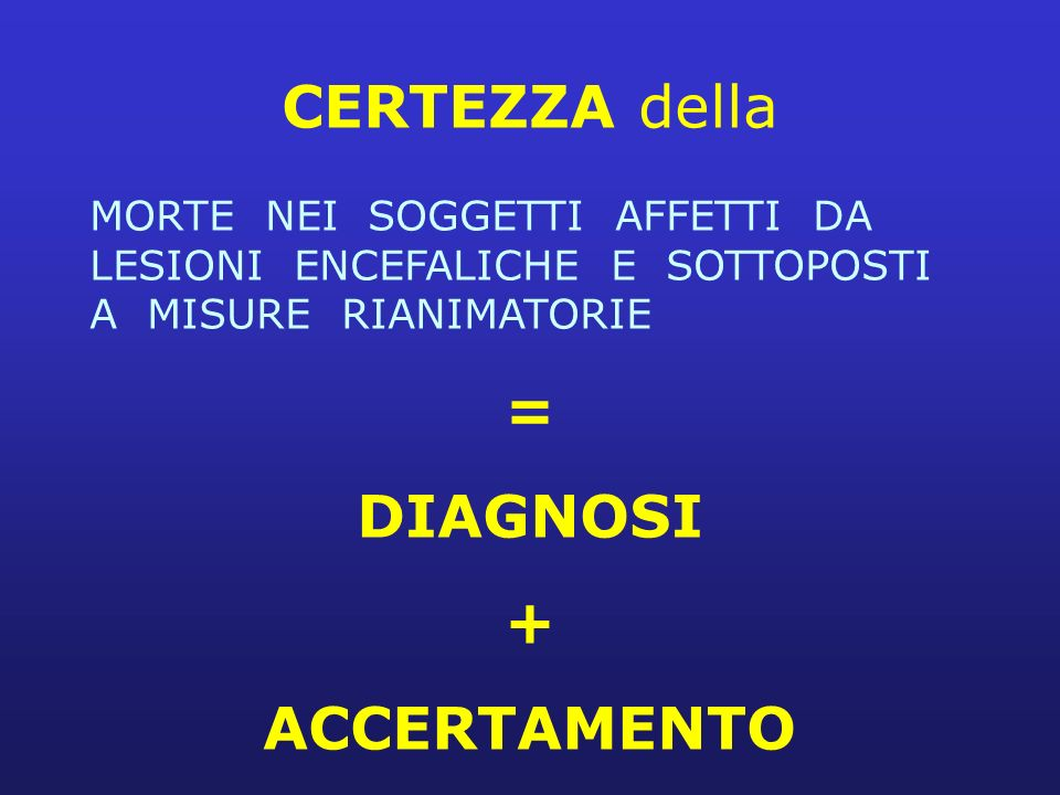 = DIAGNOSI + ACCERTAMENTO