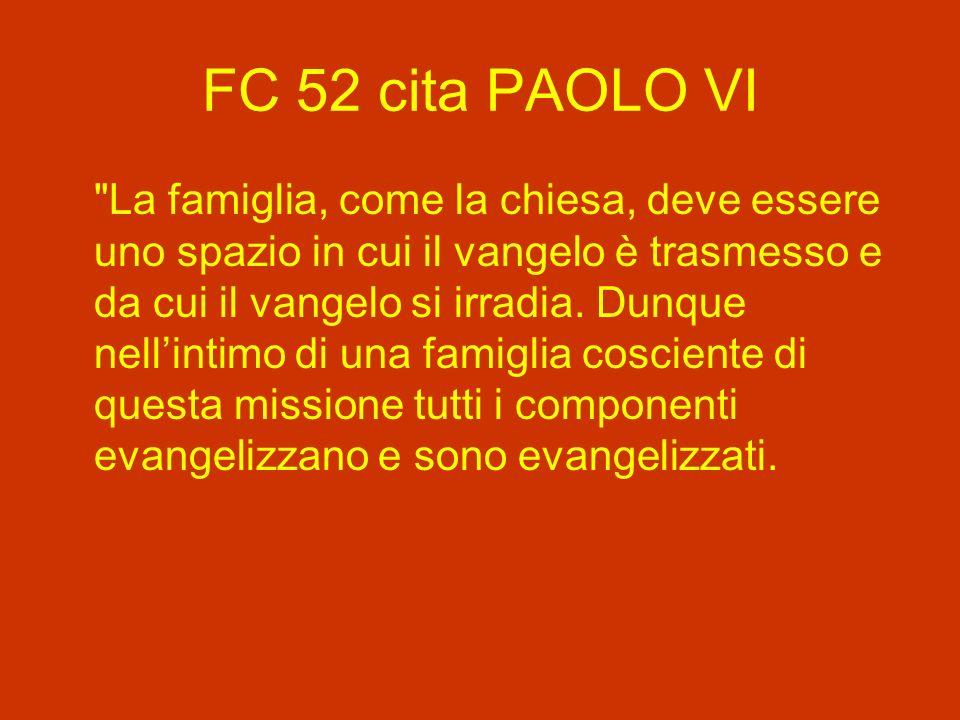 FC 52 cita PAOLO VI