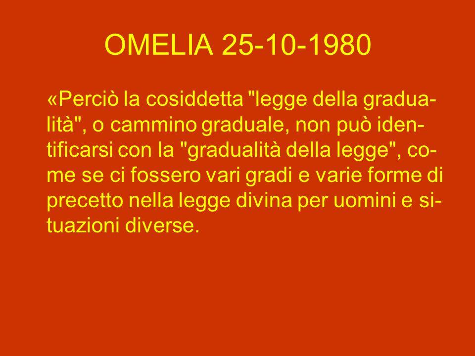 OMELIA 25-10-1980