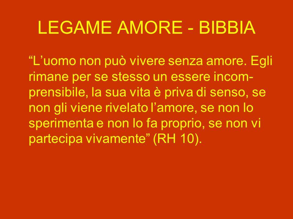 LEGAME AMORE - BIBBIA
