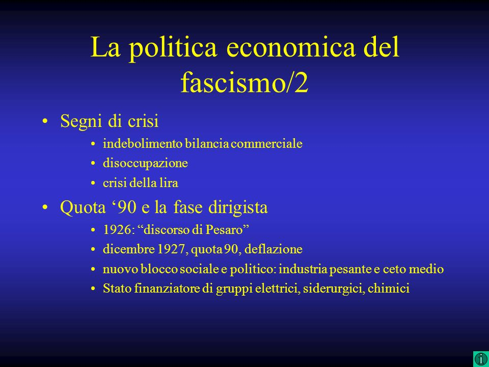 La politica economica del fascismo/2