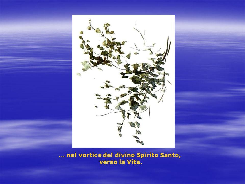 … nel vortice del divino Spirito Santo,