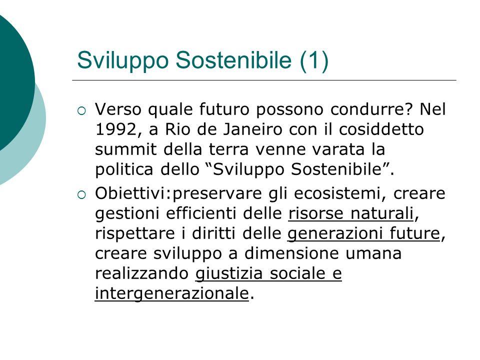 Sviluppo Sostenibile (1)