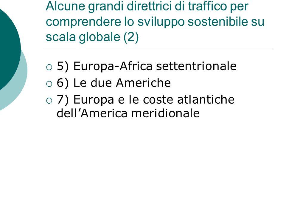 Alcune grandi direttrici di traffico per comprendere lo sviluppo sostenibile su scala globale (2)