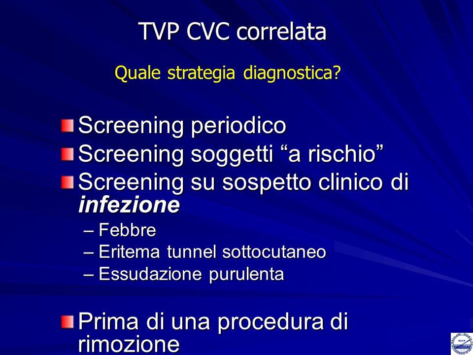 Screening soggetti a rischio