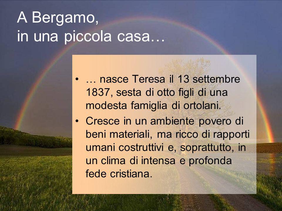 A Bergamo, in una piccola casa…