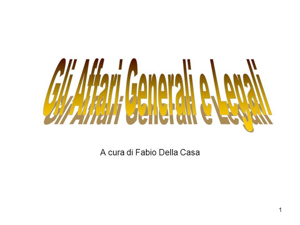 A cura di Fabio Della Casa