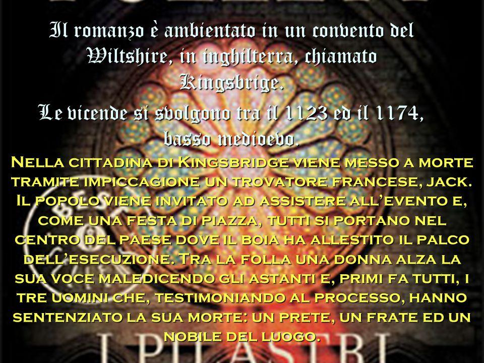 Le vicende si svolgono tra il 1123 ed il 1174, basso medioevo.