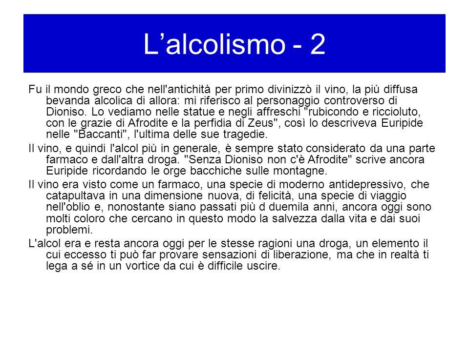 L'alcolismo - 2