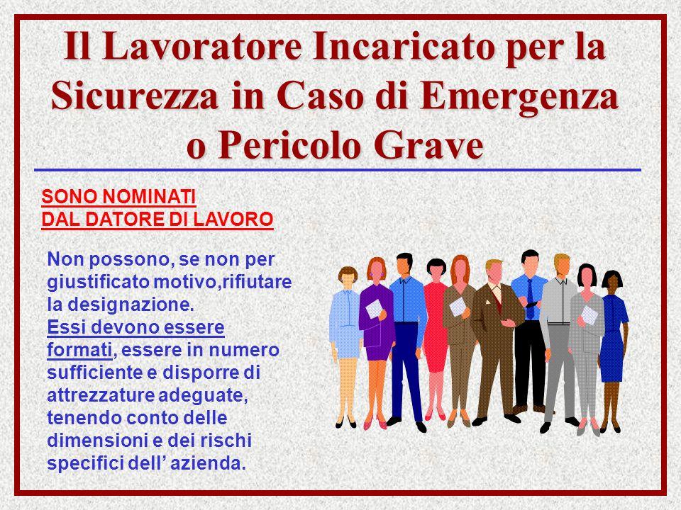 Il Lavoratore Incaricato per la Sicurezza in Caso di Emergenza o Pericolo Grave