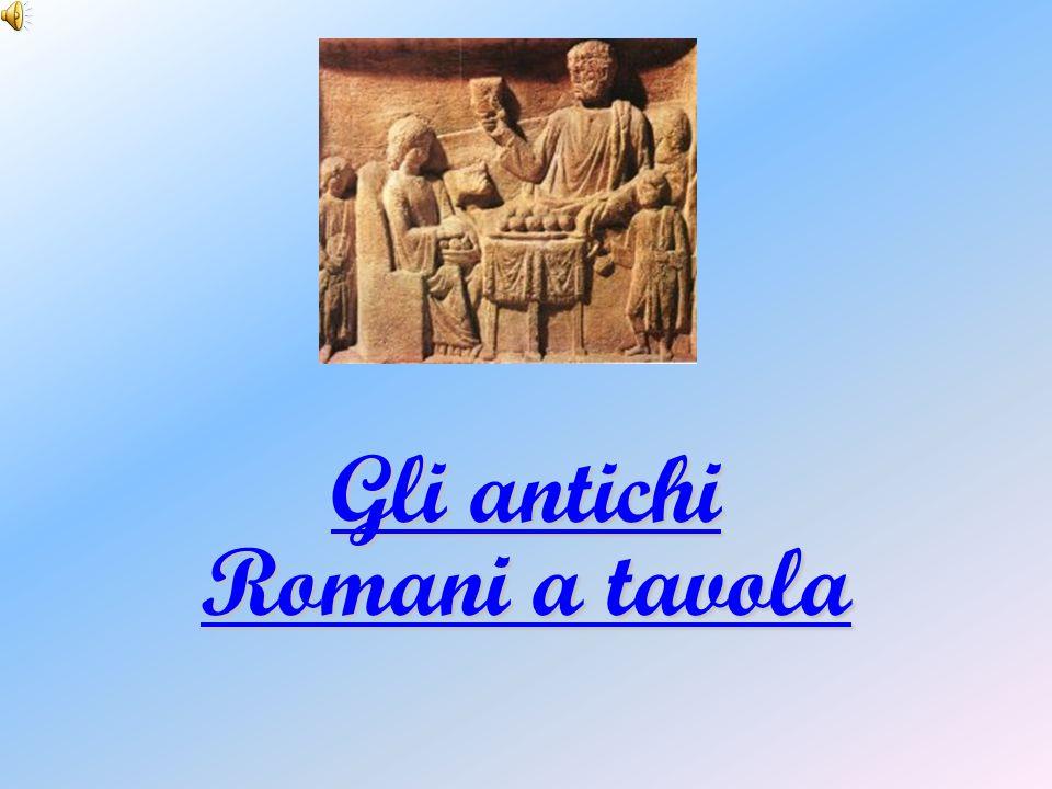 Gli antichi Romani a tavola