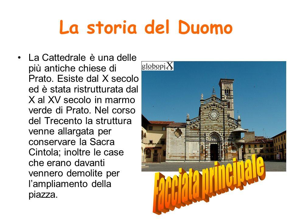 La storia del Duomo Facciata principale