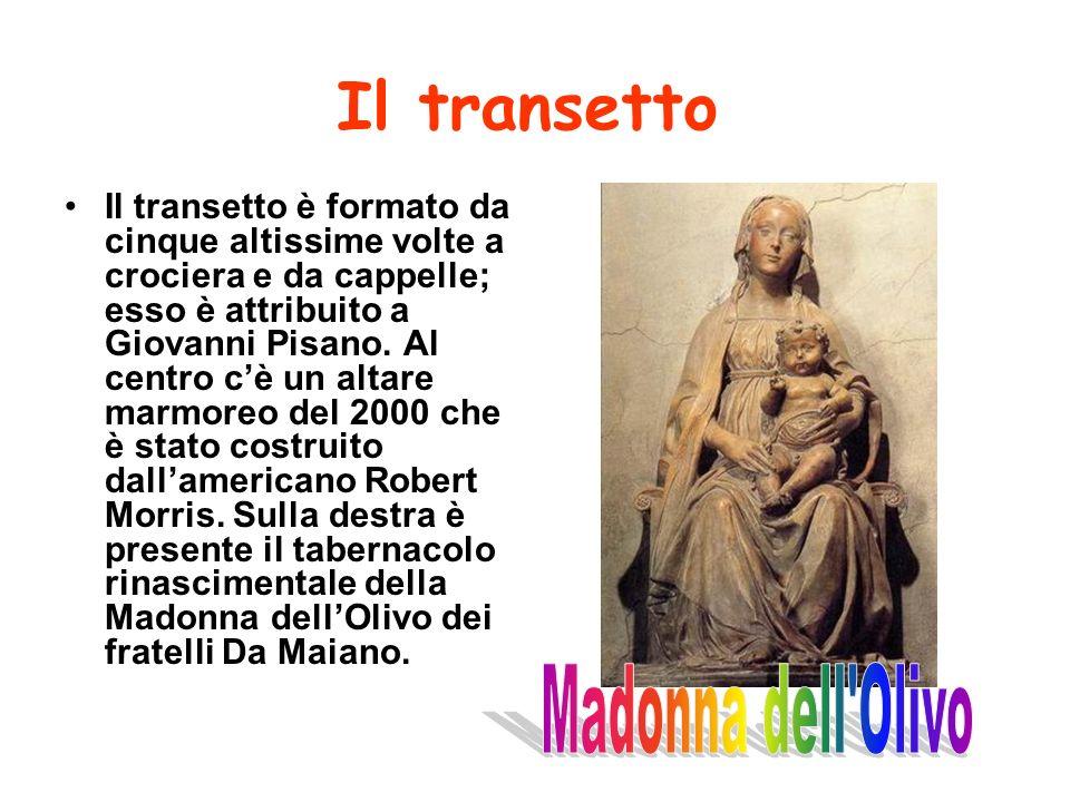 Il transetto Madonna dell Olivo
