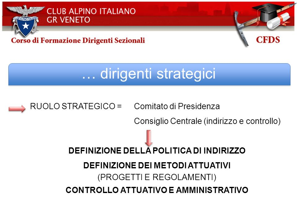 … dirigenti strategici