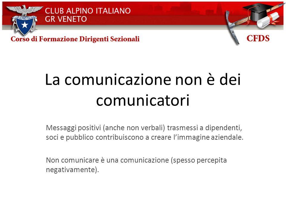 La comunicazione non è dei comunicatori