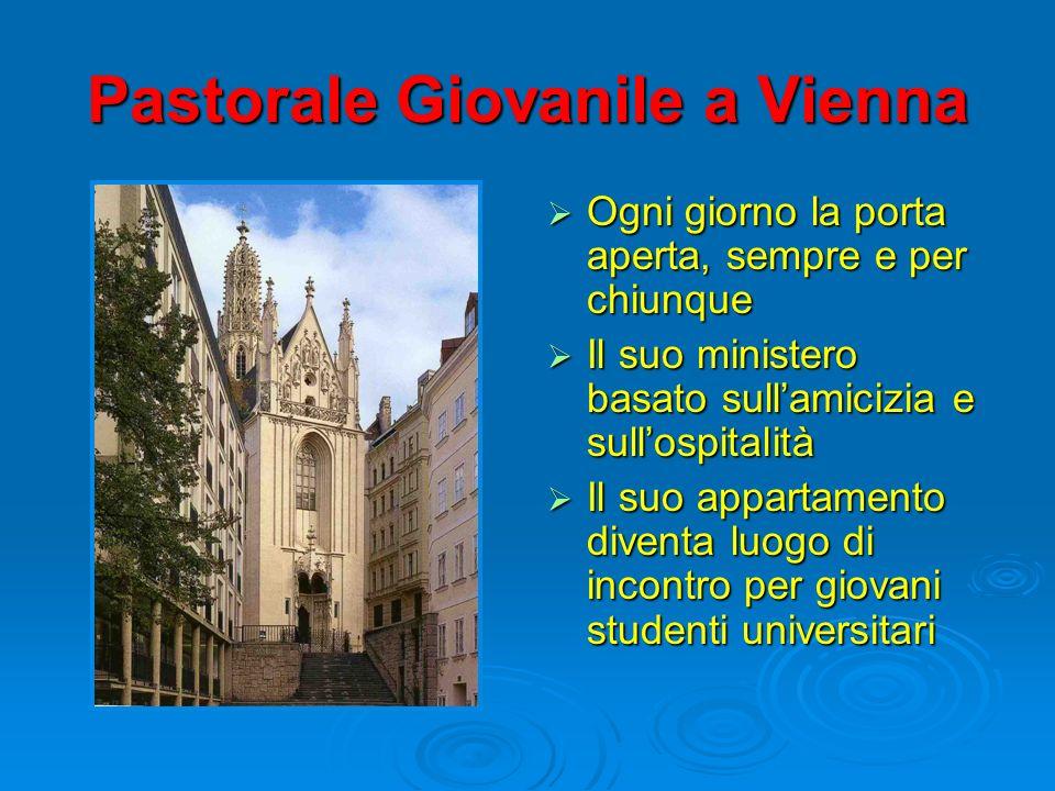 Pastorale Giovanile a Vienna