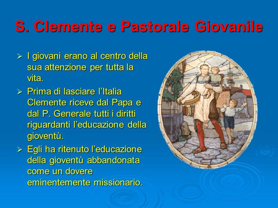 S. Clemente e Pastorale Giovanile