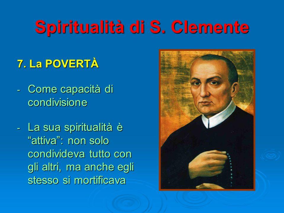 Spiritualità di S. Clemente