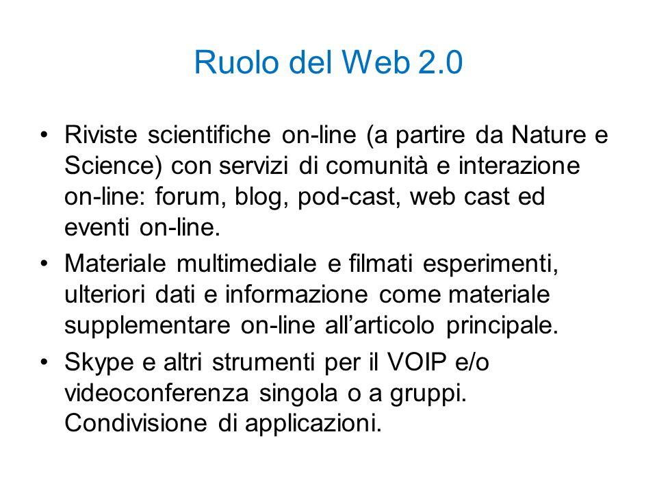 Ruolo del Web 2.0