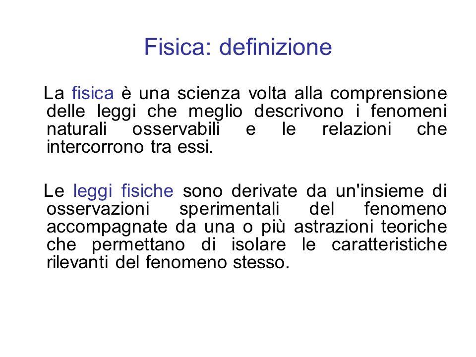 Fisica: definizione
