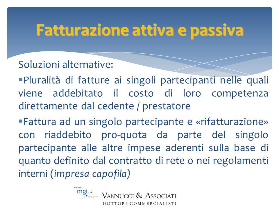 Fatturazione attiva e passiva