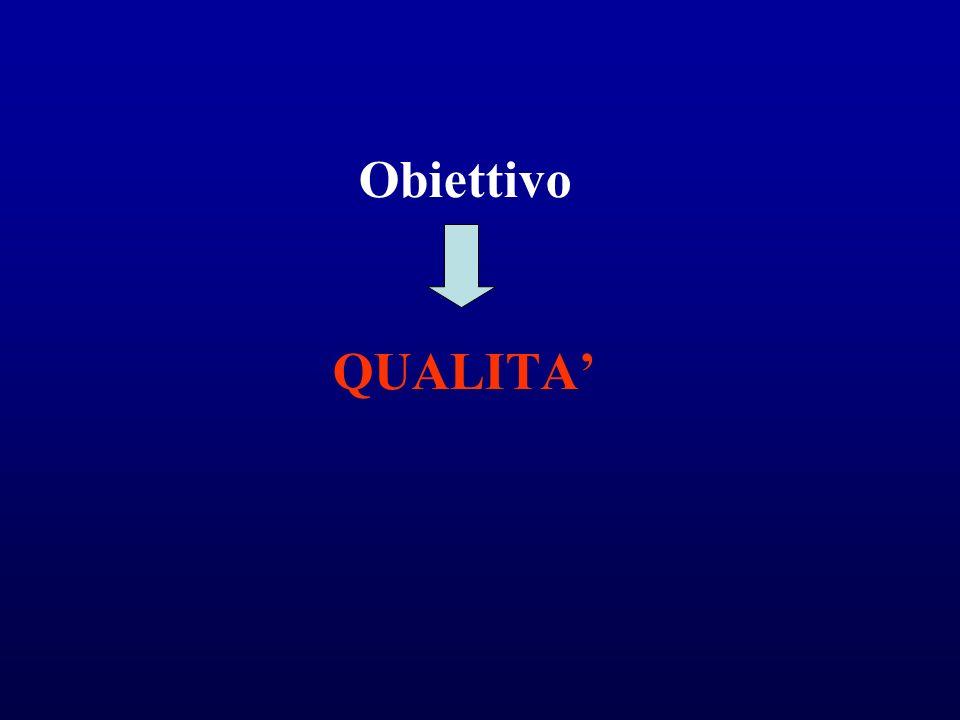 Obiettivo QUALITA'