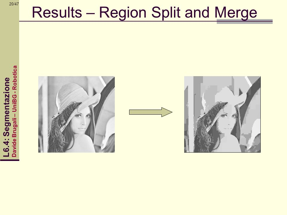 Results – Region Split and Merge