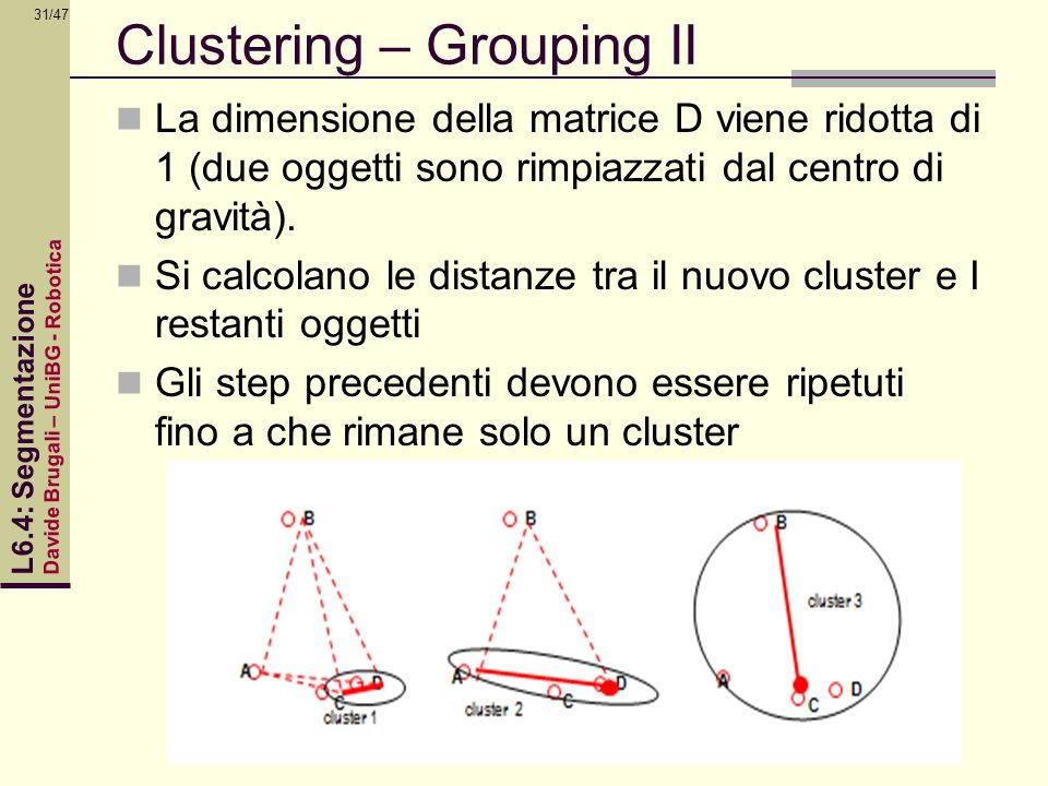 Clustering – Grouping II