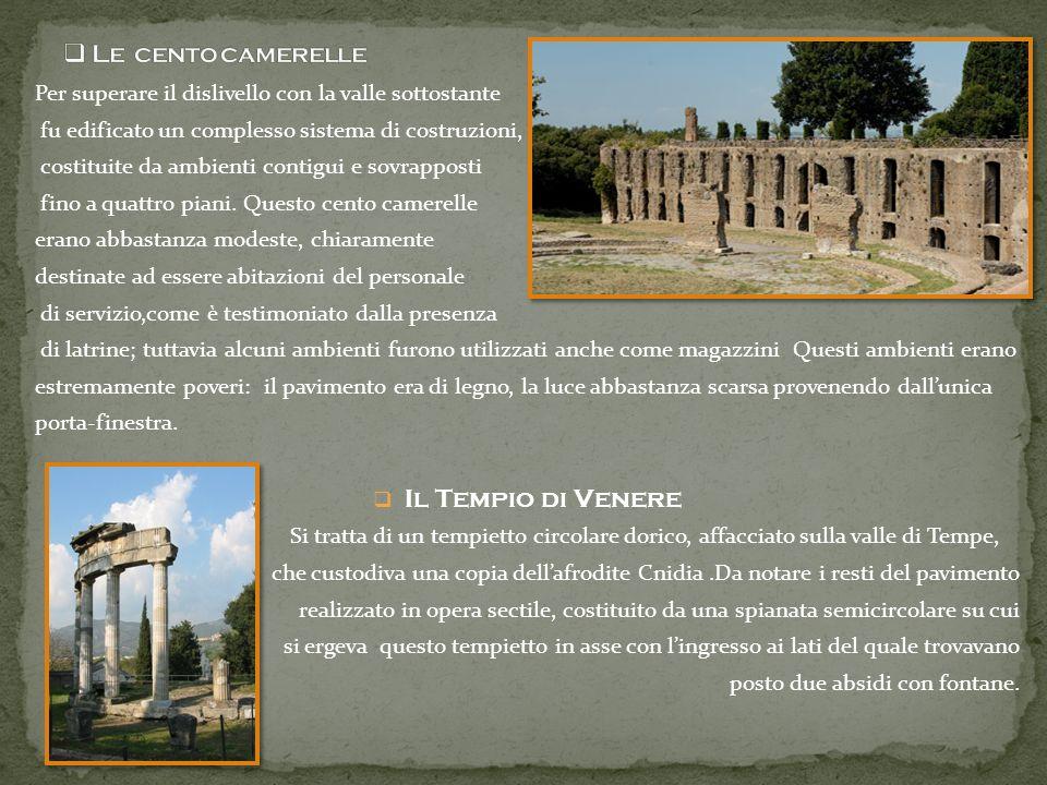Le cento camerelle Il Tempio di Venere