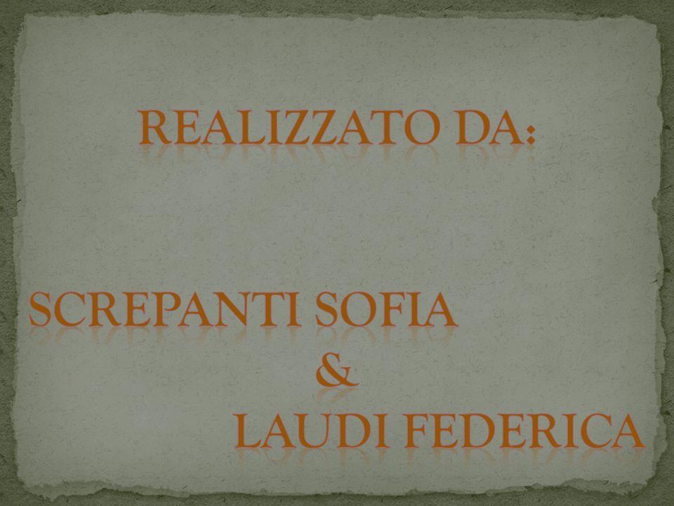 Realizzato da: Screpanti Sofia & Laudi Federica