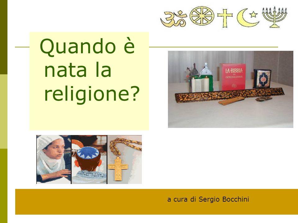 Quando è nata la religione