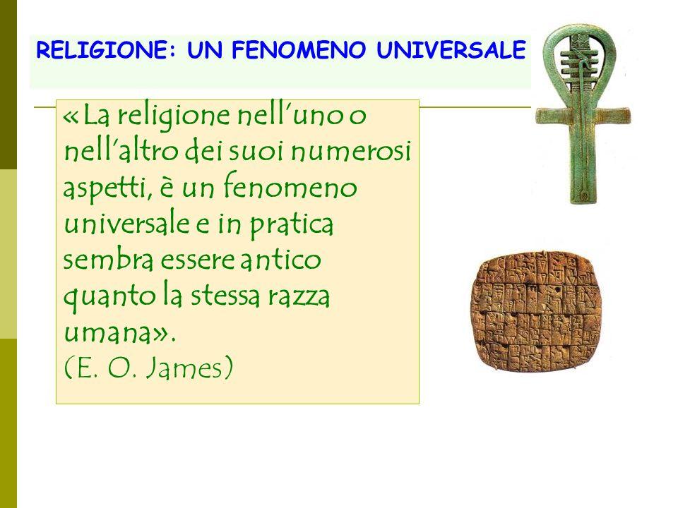 «La religione nell'uno o nell'altro dei suoi numerosi
