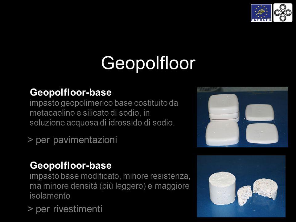 Geopolfloor Geopolfloor-base > per pavimentazioni Geopolfloor-base