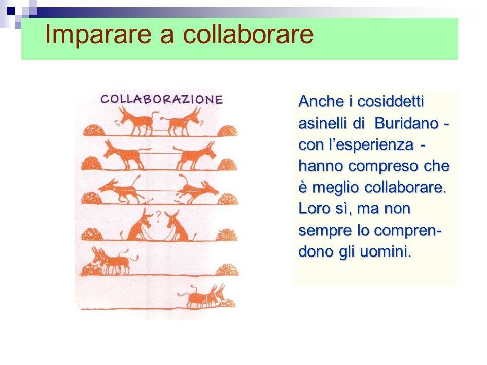 Imparare a collaborare