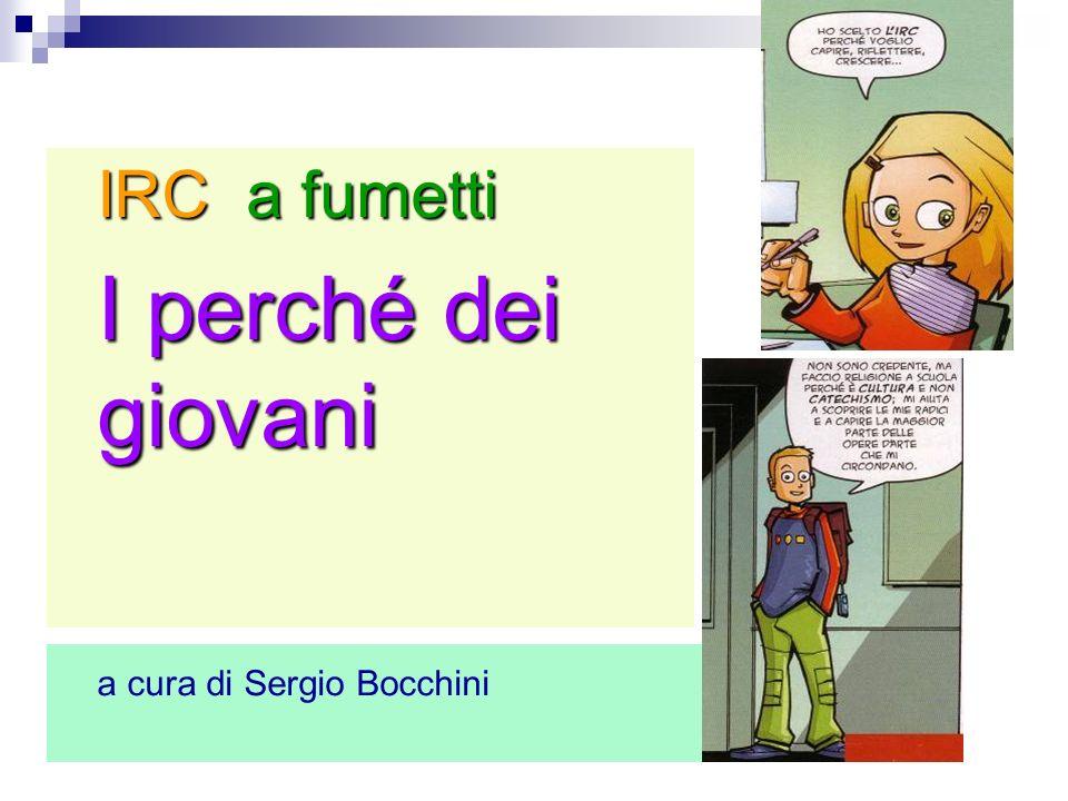 IRC a fumetti I perché dei giovani a cura di Sergio Bocchini 2
