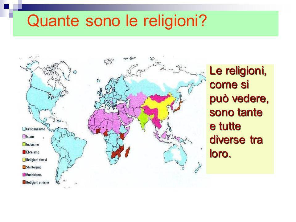 Quante sono le religioni