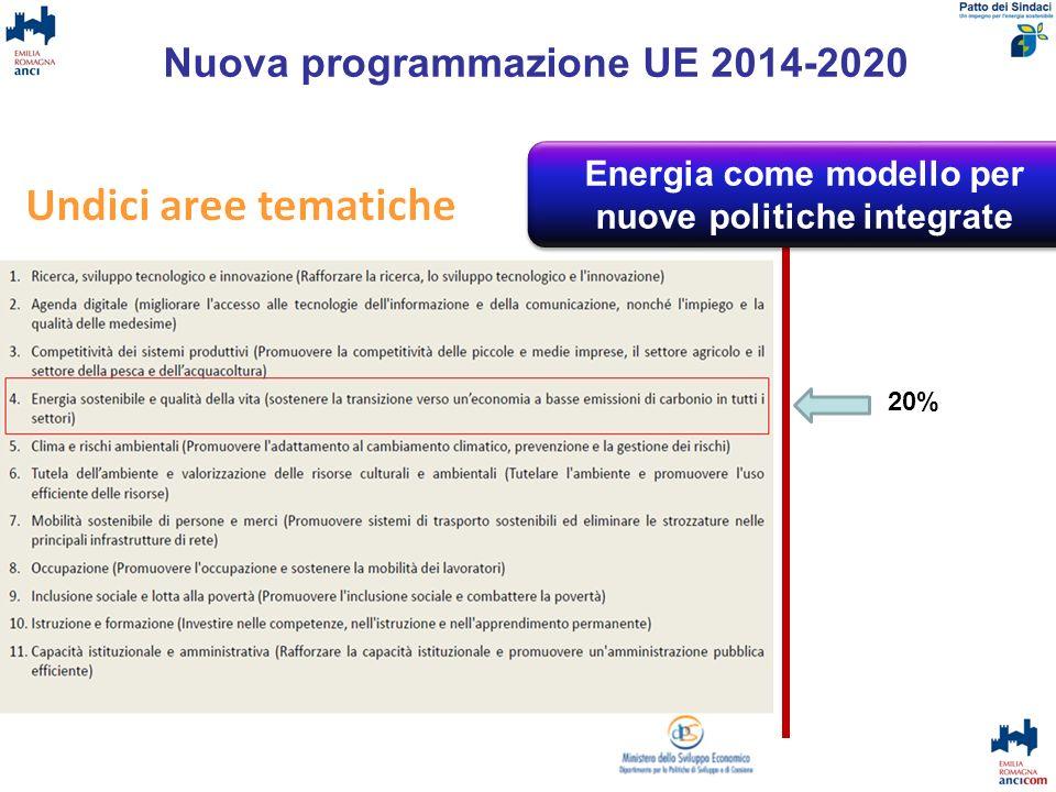 Nuova programmazione UE 2014-2020