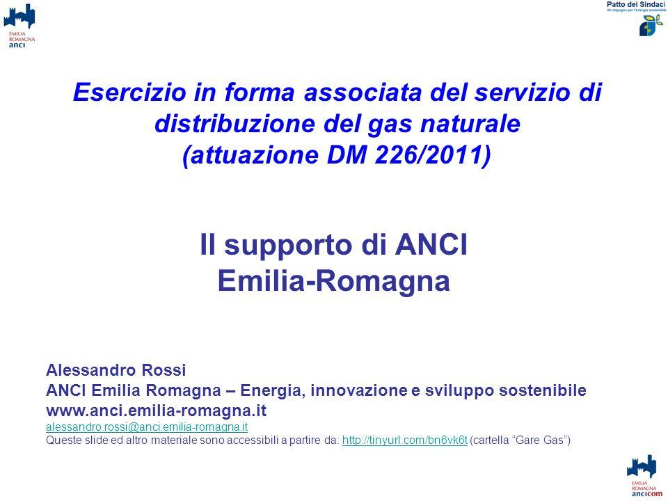 Il supporto di ANCI Emilia-Romagna