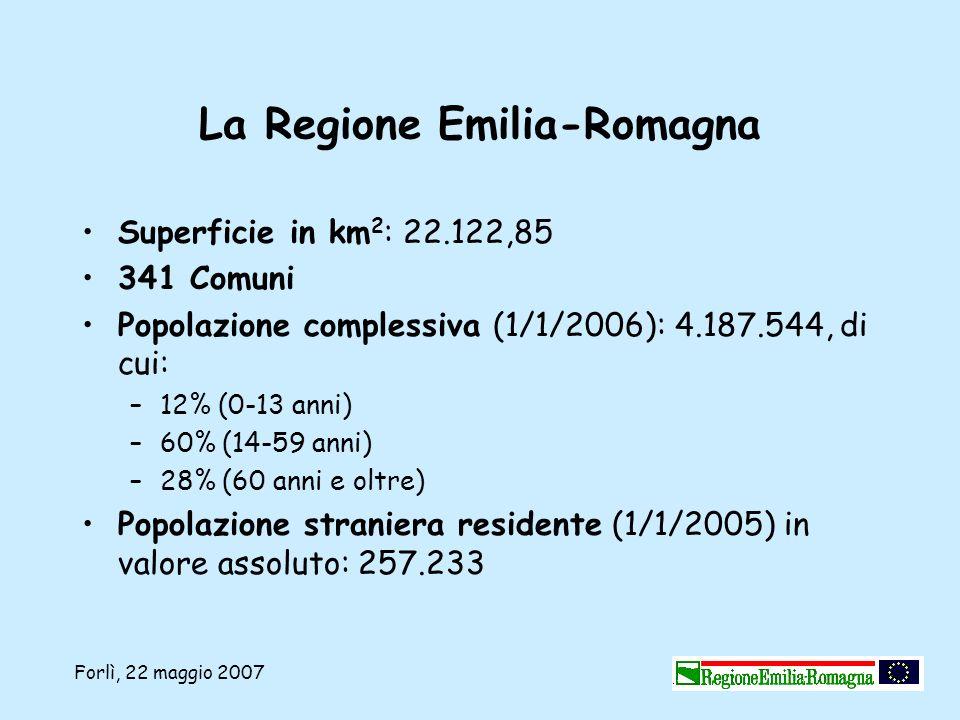 La Regione Emilia-Romagna