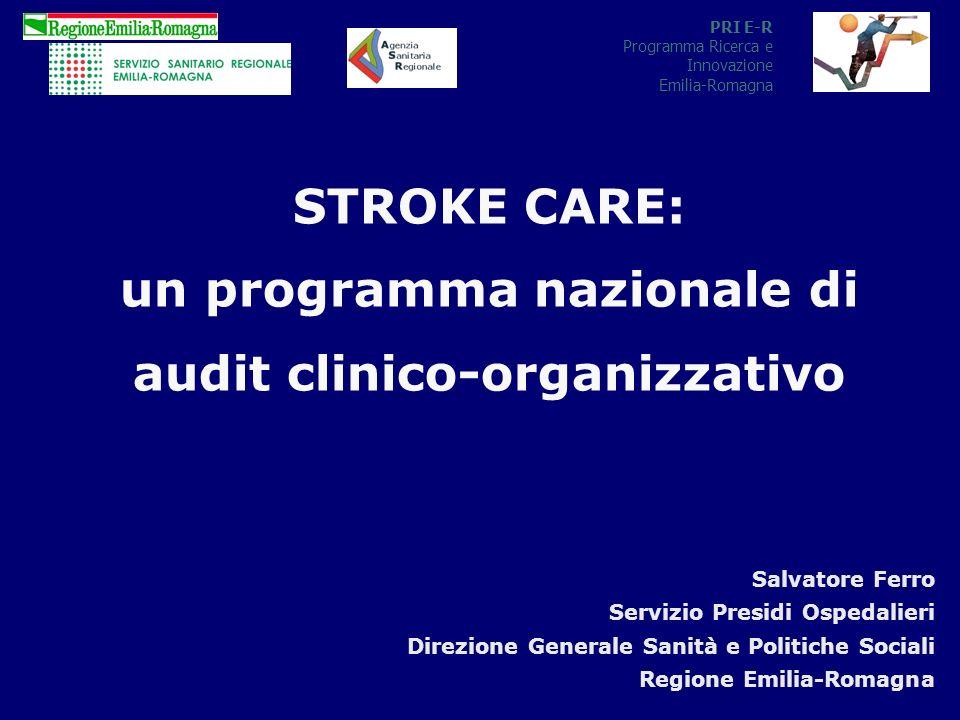 un programma nazionale di audit clinico-organizzativo