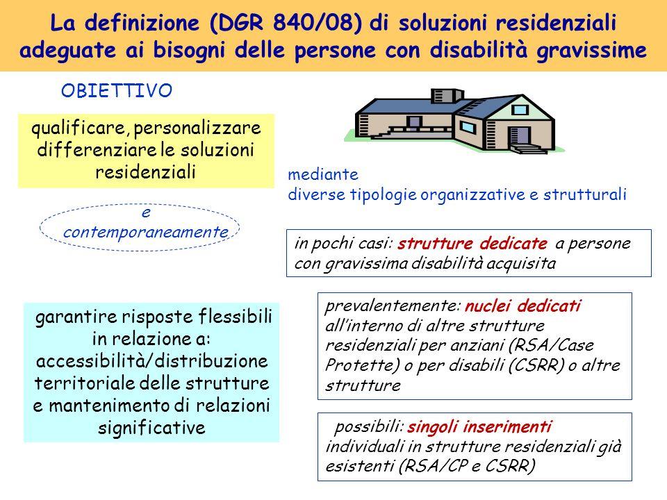 qualificare, personalizzare differenziare le soluzioni residenziali